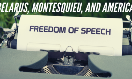 Belarus, Montesquieu, and America