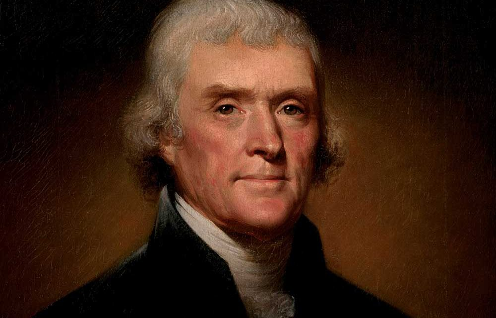 Jefferson's policy of isolationism